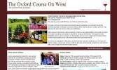 The Oxford Course on Wine