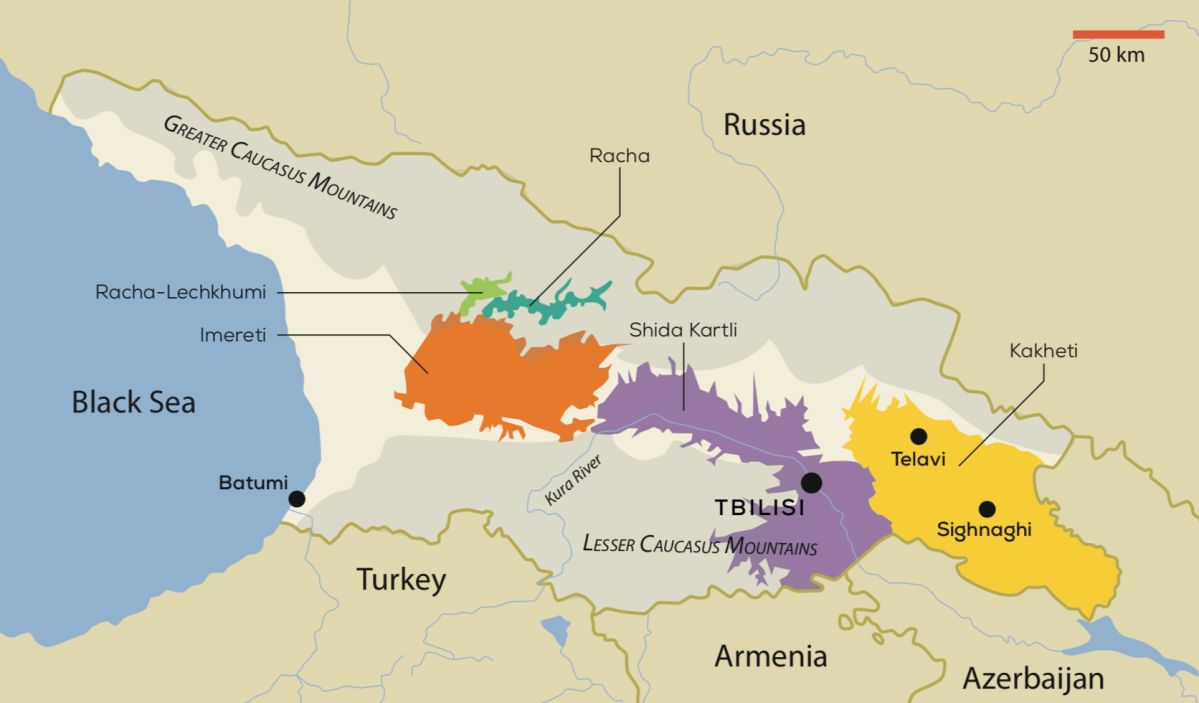 The Wines of Georgia